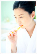 歯磨きの画像