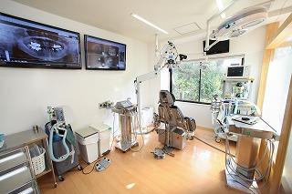 インプラント・口腔外科専門の手術室の写真